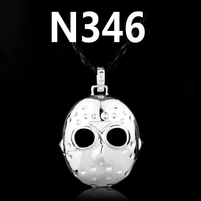 New Fashion Movie Jewelry Black Friday Hockey Jason Mask Pendant Necklace