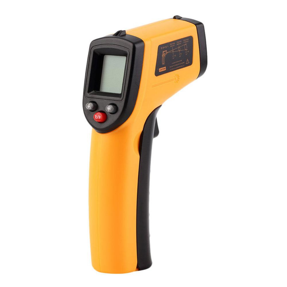 GM320 Laser LCD Digital IR Infrared Thermometer Temperature Meter Gun Point -50~380 Degree Non-Contact Thermometer