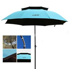 Outdoor Camping Fishing Umbrella 2-2.2m Universal Rain-proof Sunscreen Beach Rest Angling Anti-UV Sunshade Awning цены онлайн