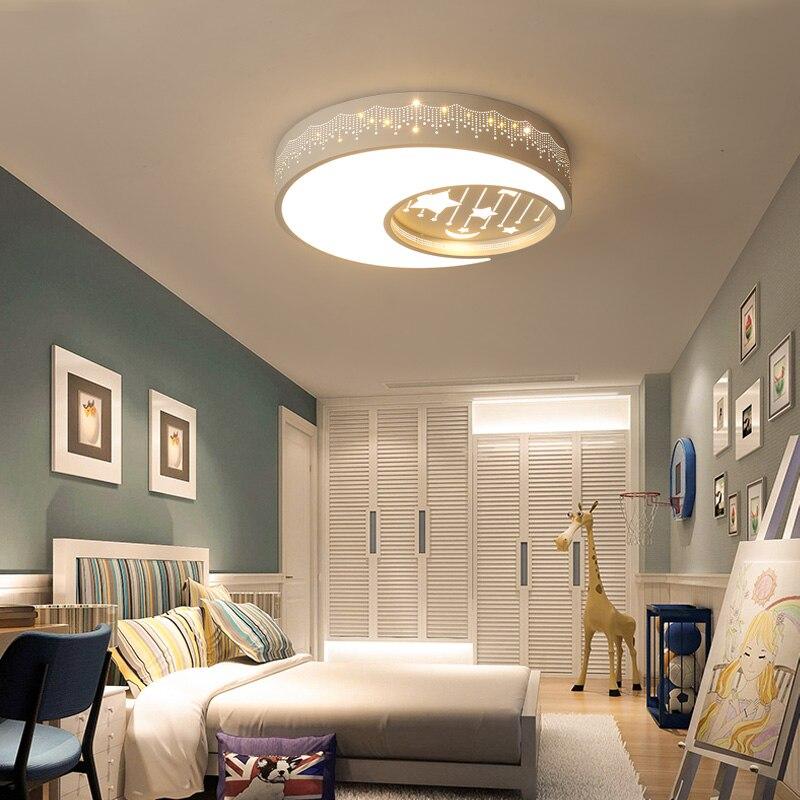Современный светодиодный потолочный светильник для детской комнаты, Креативный светодиодный потолочный светильник с изображением животн... - 3