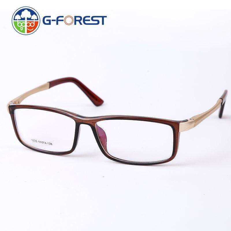 c4cb51bb86bb88 Lunettes pour femmes marque optique cadres effacer objectif lunettes hommes  monture de lunettes de mode des lunettes de prescription En Aluminium 5225