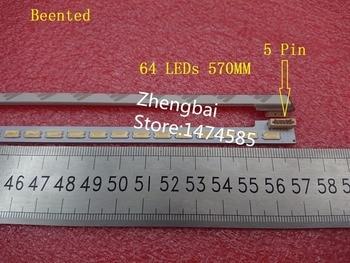 "Beented 5 PCS/lot 46""New SSL460_3E1B LTA460HQ18 LJ64-03471A LED strip 2012SGS46 7030L 64 REV1.0 64 LEDs 570mm"