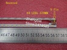 """Beented 5 adet/grup 46 """"Yeni SSL460_3E1B LTA460HQ18 LJ64 03471A LED şerit 2012SGS46 7030L 64 REV1.0 64 LEDs 570mm"""
