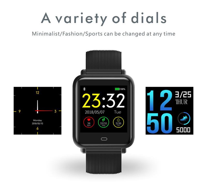 Reloj inteligente IP67 con Monitor de ritmo cardíaco 14