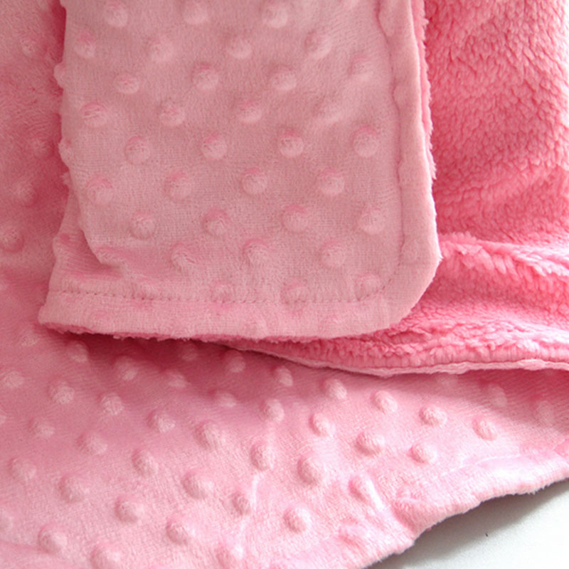 Newborn Infants Toddlers Blanket Velvet Soft Warm Baby Care Bedding Supplies