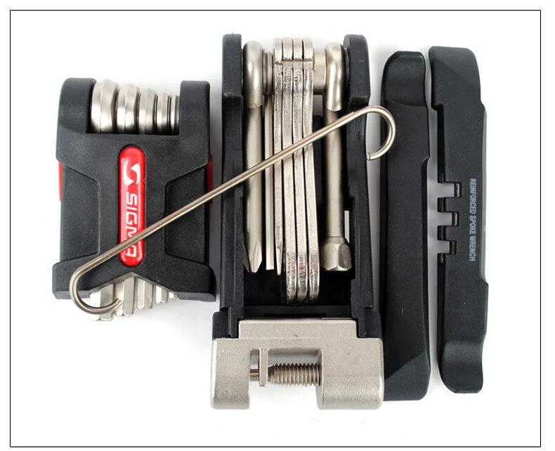 Многофункциональный PT16 карманный инструмент для ремонта велосипеда Наборы мини портативный набор инструментов для ремонта велосипедов шестигранный спицевой ключ Горный Цикл Отвертка инструменты