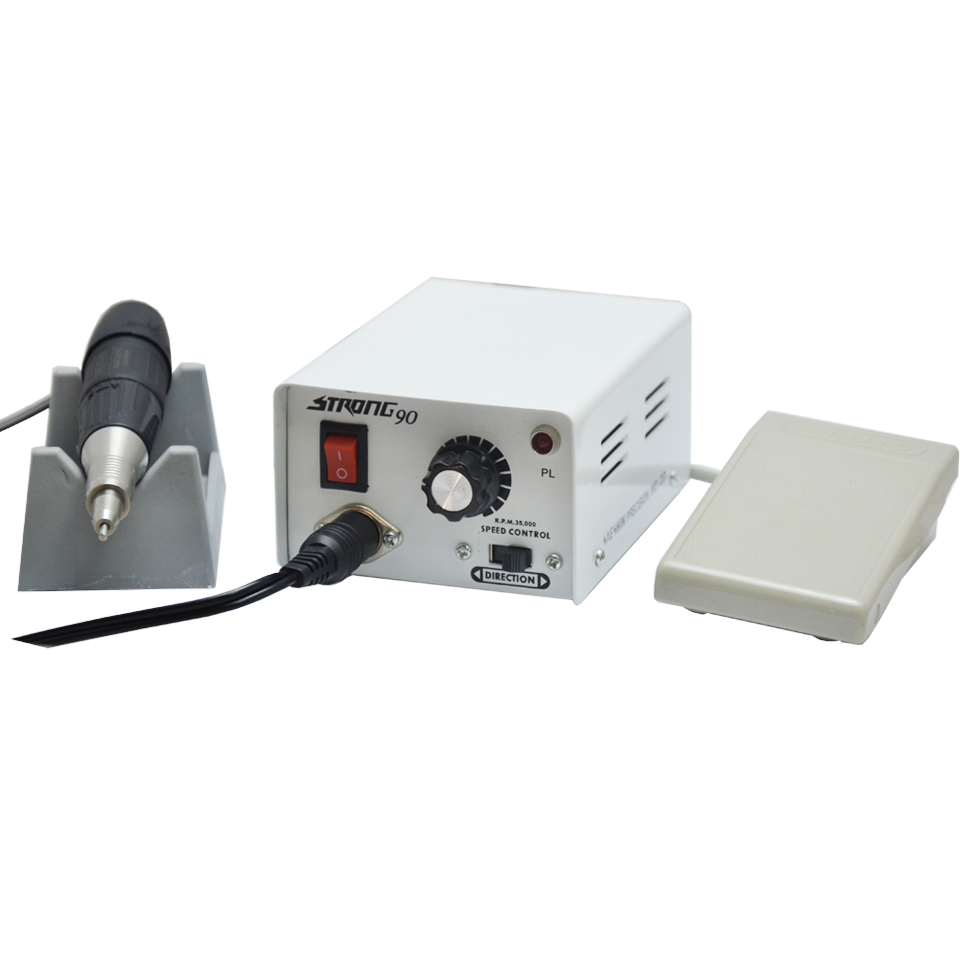 Electric Micromotor Mini motor Polishing Polisher for Laboratory, Jewellery, Hobby and Nail File 1pc white or green polishing paste wax polishing compounds for high lustre finishing on steels hard metals durale quality