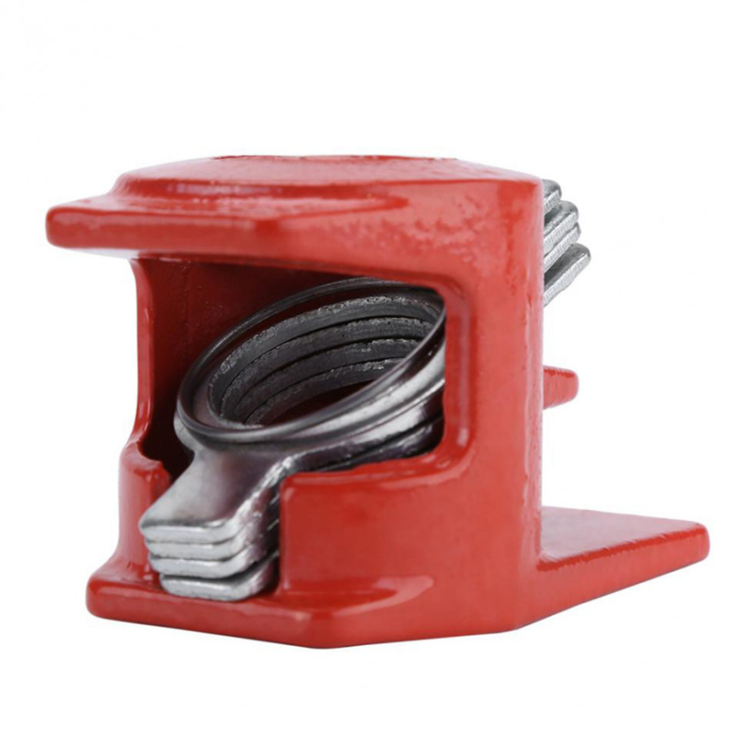 Image 5 - 3/4 inch Heavy Duty Pipe Clamp Woodworking Wood Gluing Pipe Clamp 3/4 inch Pipe Clamp Fixture Carpenter Woodworking Tools-in Clamps from Home Improvement