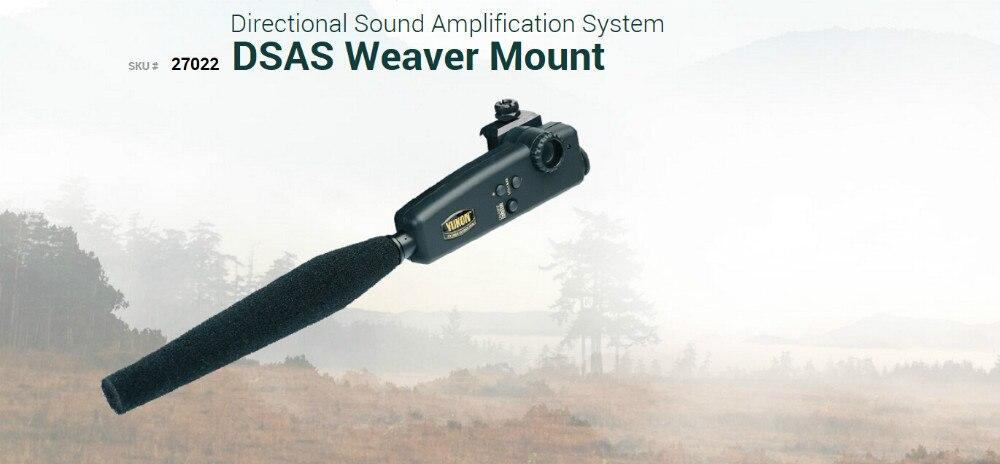 Hohe qualität Yukon 27022 DSAS directional sound Verstärkung system mit Weber-einfassung nachtsicht sound verstärkung