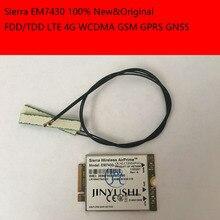 JINYSHI For EM7430 2PCS LTE 30cm NGFF M 2 IPX4 antenna FDD TDD LTE 4G WCDMA
