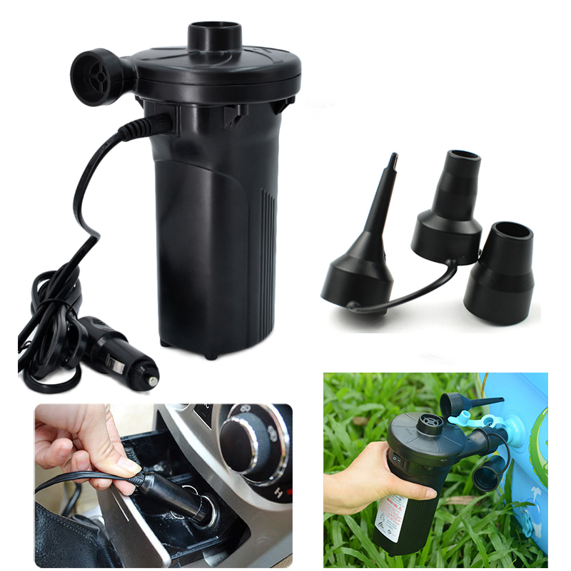 Rechargeable Electric Air Pump nickel-cadmium Battery inflatable Air Pump Inflate Reflate for Outdoor Kayak Airbed Boat <font><b>Fishing</b></font>