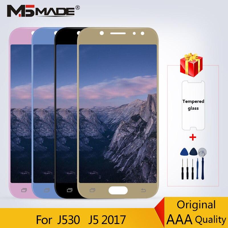 100% Original pour Samsung Galaxy J5 2017 J5 Pro J530 J530F LCD écran tactile numériseur pièces de rechange livraison gratuite
