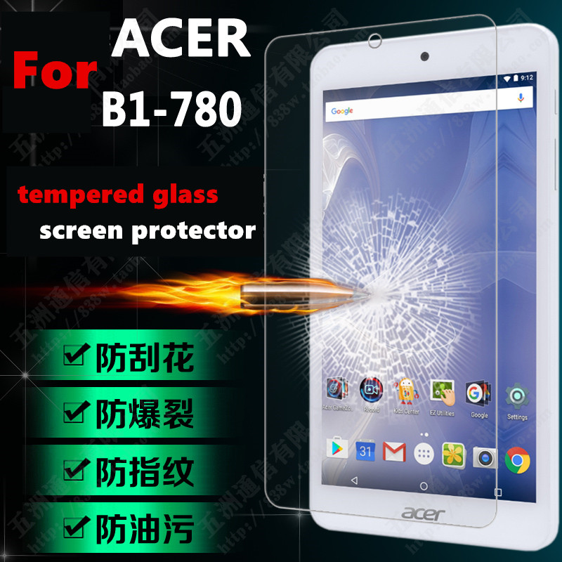 Galleria fotografica 1pc/lot Newcool 9H Tempered Glass Screen protector For ACER Iconia One 7 B1-780 7.0