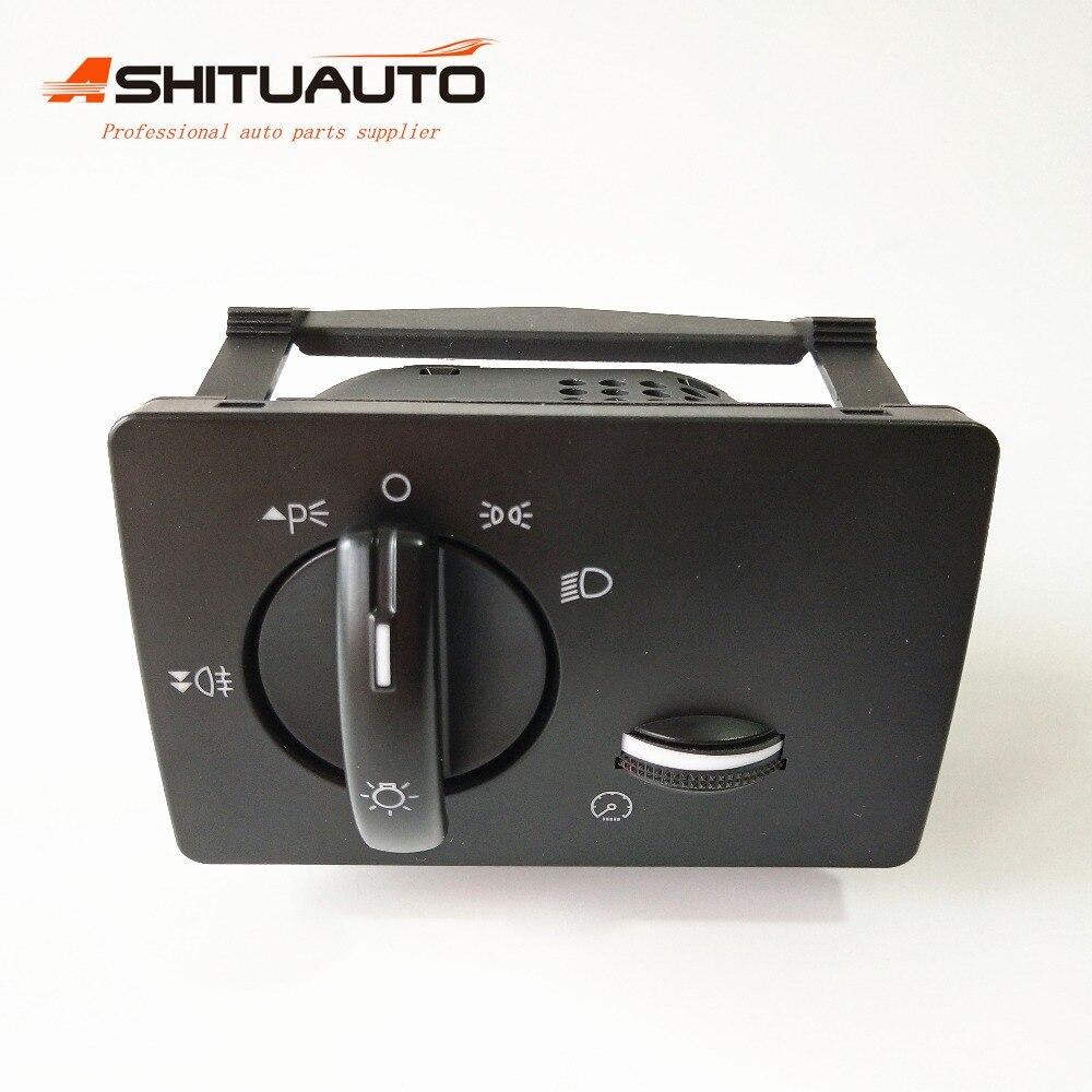 Bouton de commutation de contrôle de phare de lampe de brouillard de haute qualité/16 broches avec interrupteur de gradateur d'instrument pour FORD FOCUS 2004-2014 8M5T13A024GA