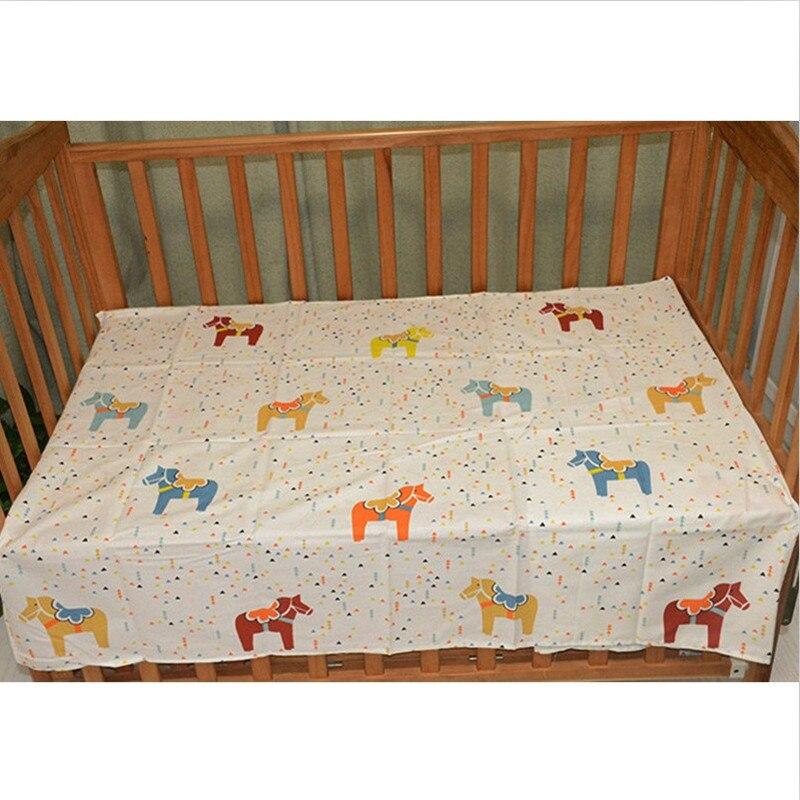 Детская простыня adamant ant, хлопок, простыни для новорожденных, Мультяшные Детские простыни, Защита окружающей среды, реактивный принт, 150X90 см - Цвет: NO12