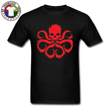 Hail Hydra Men Tshirts Marvel Comic Captain America Superhero New T Shirt For Custom Tops & Tees Good Quality Brand