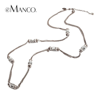 Eamcno Fashion Jewelry Butterfly Insects Necklaces Pendant Long Chain Necklace For Women Free Shipping