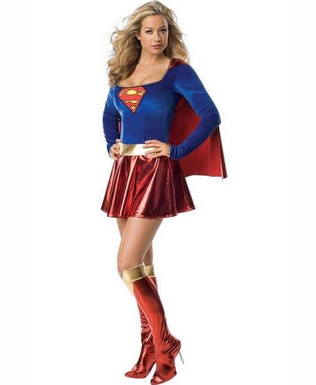 Super Girl Adult Women Costume Women Sexy Halloween Party Costumes Sexy Super Hero Adult Women Costume