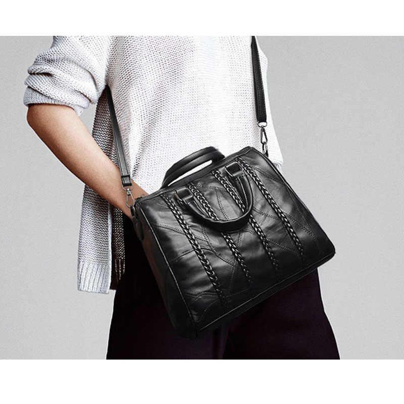 283d7af59df7 ... Роскошные Сумки Для женщин Дизайнер Tote Сумка итальянские кожаные  Сумки Брендовые женские большие Повседневное Weave Pattern