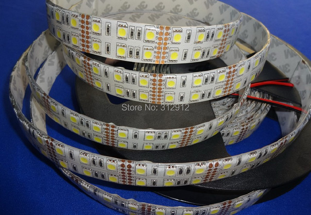 5m 5050 smd 120leds/m led flexible strip,DC12V input;waterproof by silicon coating,IP65