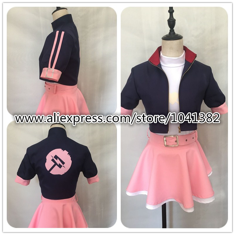 2019 Anime RWBY Nora Valkyrie Cosplay Costume customized any size