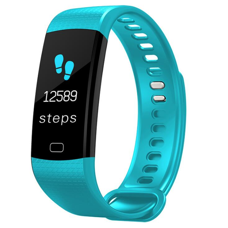 New Y5 0.96 inch color screen heart rate blood pressure healthy sleep monitoring Bluetooth sports smart watch bracelet