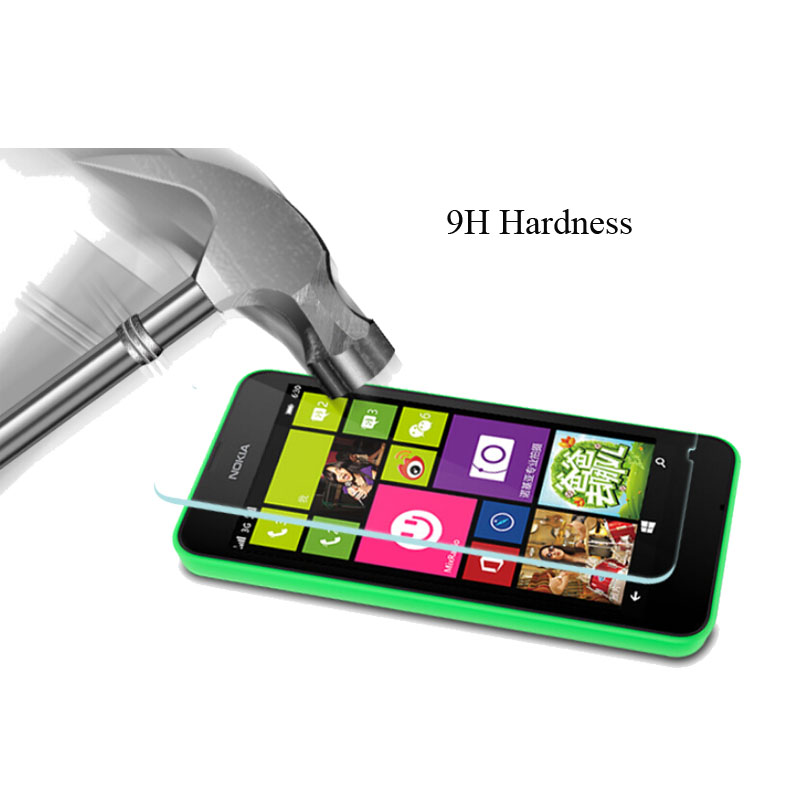 0.3mm 9h Tempered Glass For Nokia Lumia 520 530 535 540 625 630 925 1045 1320 650 X2 Protective Film Screen Protector Case