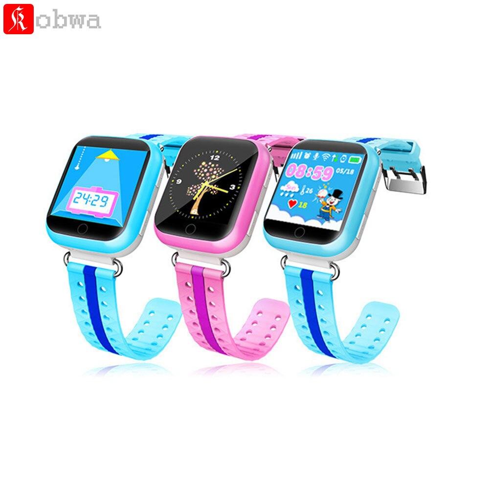 imágenes para Smart watch q750 bebé reloj gps wifi dispositivo rastreador lbs ubicación 1.54 pulgadas de Pantalla Táctil Monitor SOS Llamada de Seguros para Niños Anti-Perdido