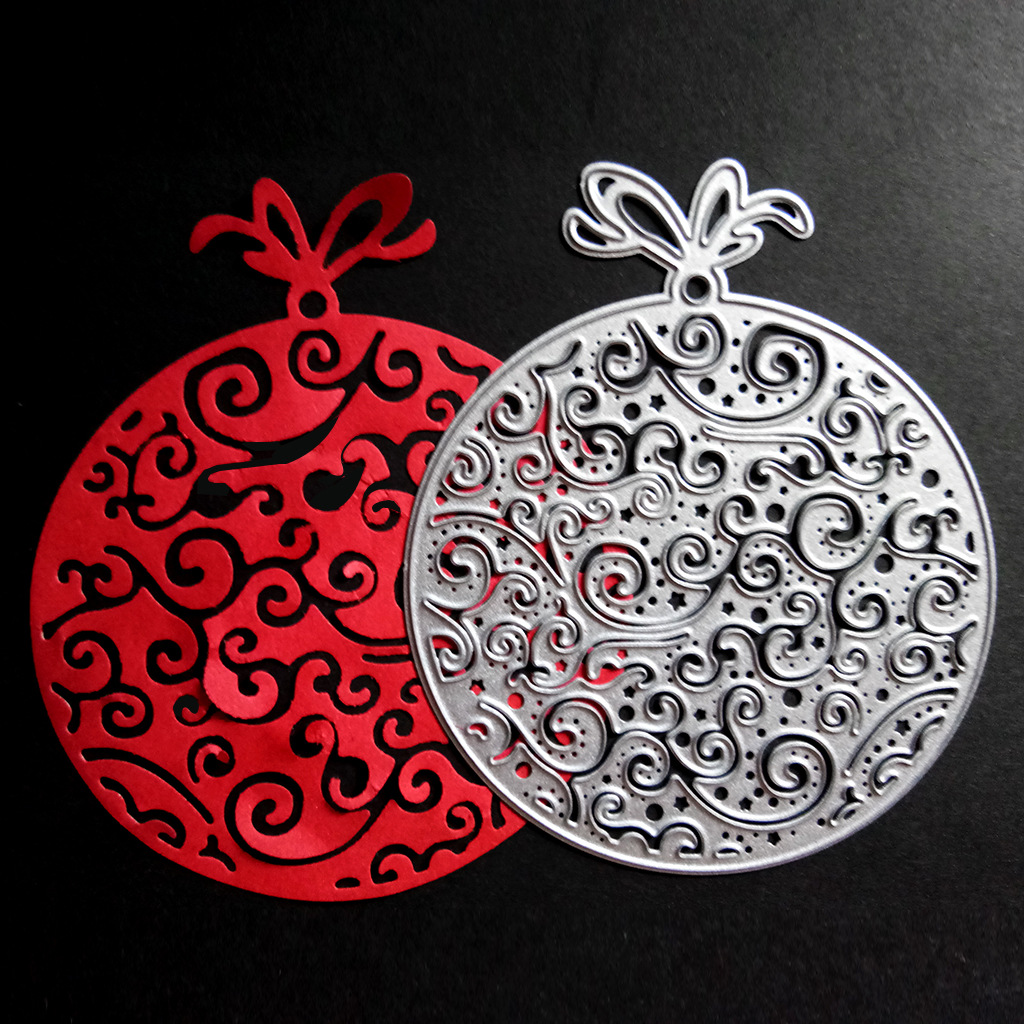 JX-LCLYL 100x85mm Decorative patternr DIY knife molding knife mold carbon steel die cutting