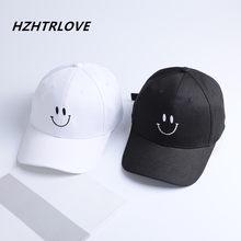 Alta calidad encantadora sonrisa gorra de béisbol moda marca Snapback Cap  para hombres mujeres Casquette Hip Hop sombrero gorras a7fed15481f