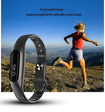 Bluetooth smart wristwatch E06 health step counter braclelet, pedometer and sleep tracker for I phone IOS 7 and Android 4.3