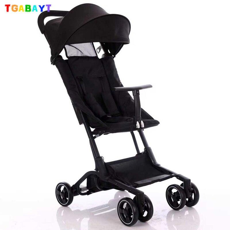 Original yoya mini poche poussette pliante parapluie chariot ultra-léger bébé voiture légère poussette portable dans l'avion
