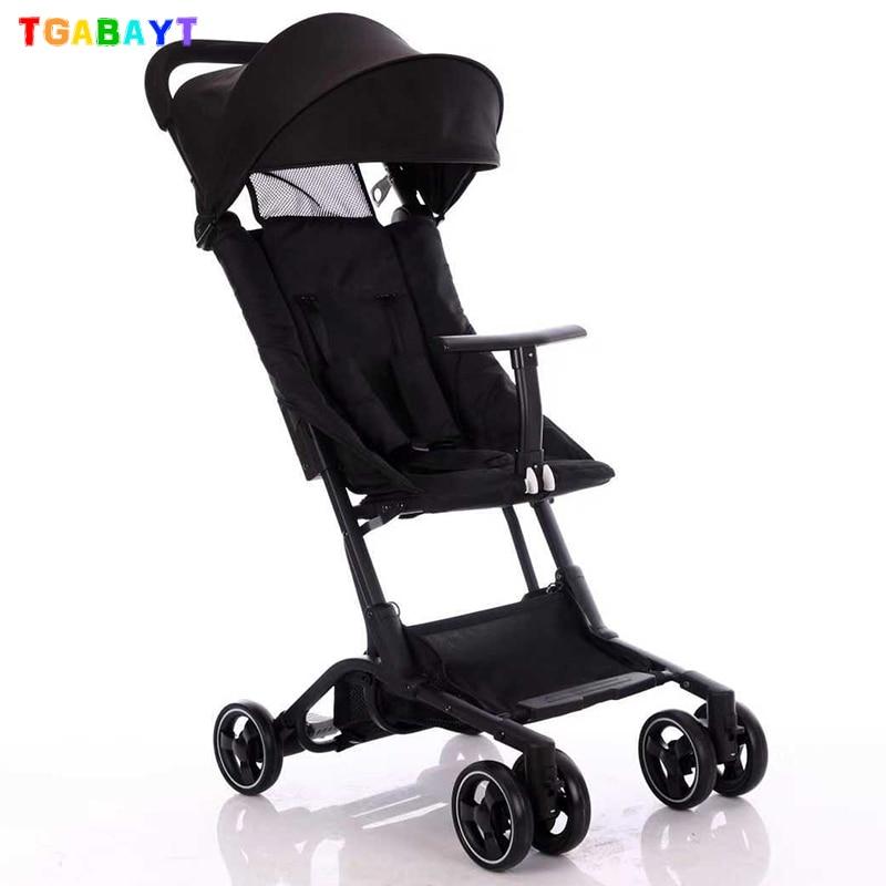 Original Yoya Mini Pocket Stroller Folding Umbrella Trolley Ultra-light Baby Car Lightweight Pushchair Portable On The Airplane