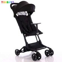 Yoya Original cochecito con bolsillos mini, carrito con sombrilla plegable, cochecito para bebé ultraligero, cochecito ligero portátil en el avión