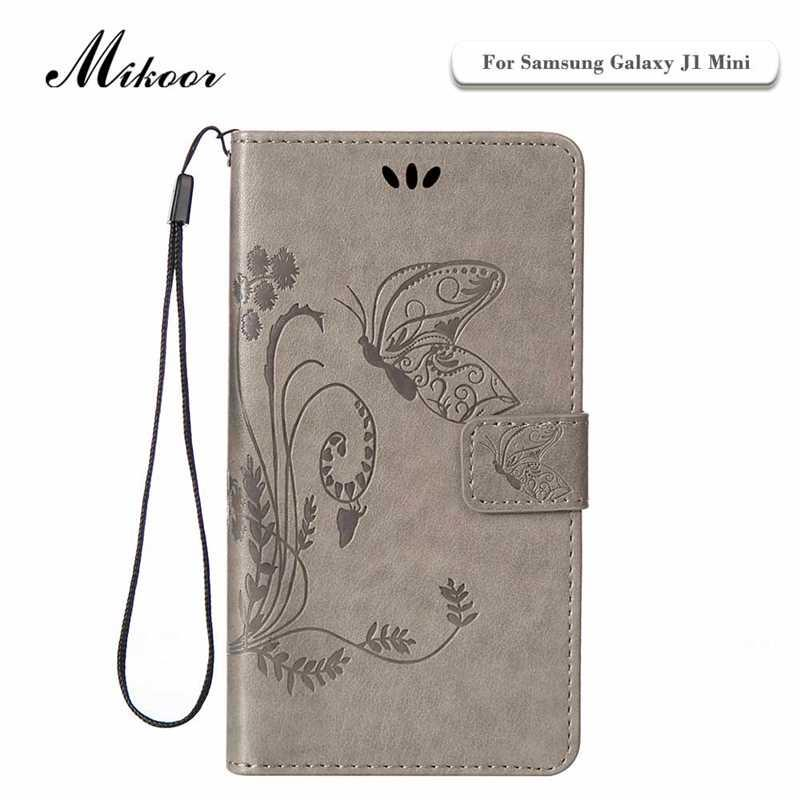 Mikoor Fashion Beautiful Butterfly Leather 4.0For Samsung Galaxy J1 Mini Case For Samsung Galaxy J1 Mini Cell Phone Case Cover ...