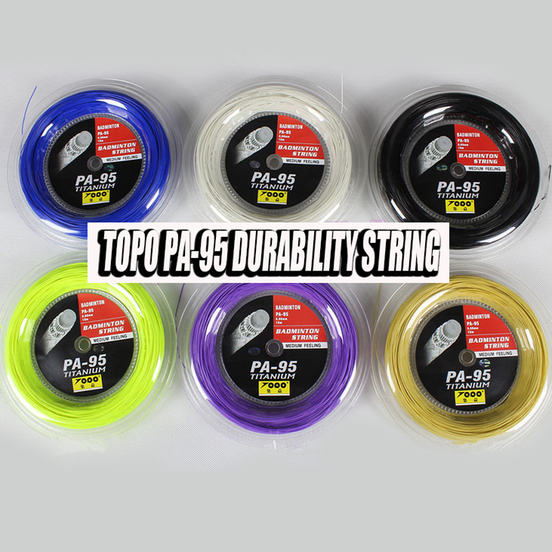1 reel TOPO PA95 Badminton String Reel 200M