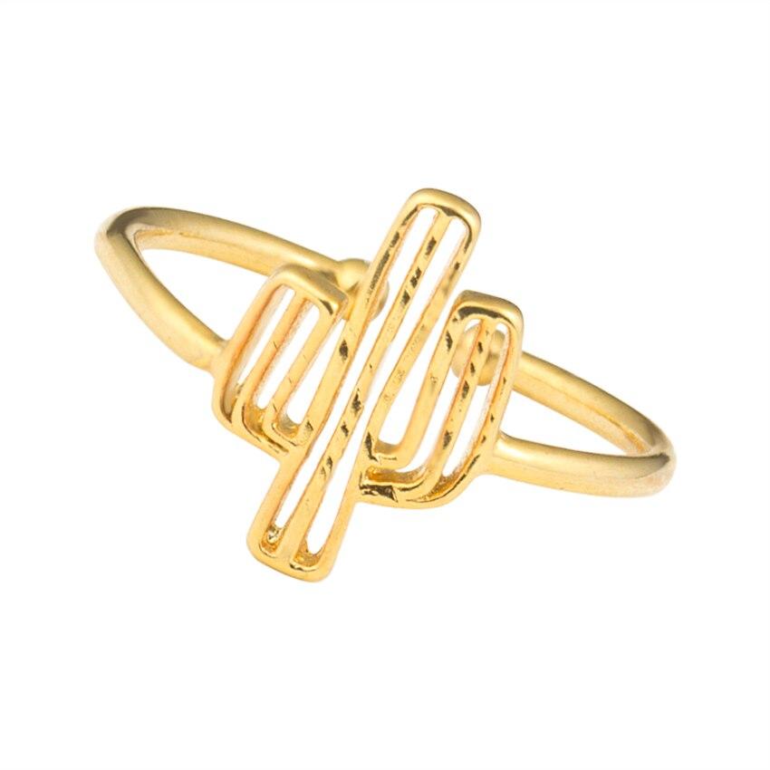 Bohemia Cactus Adjustable Ring  1