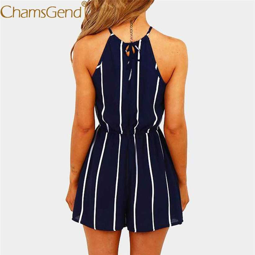 69268425651 ... Free Shipping Women Girls Sexy Off Shoulder Striped Chiffon Jumpsuit  Woman Playsuit 80516 Drop Shipping ...