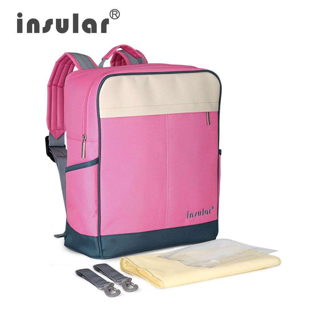 Hochleistungs-Canvas-Babywindel-Rucksack Premium Mommy Bag Backpack