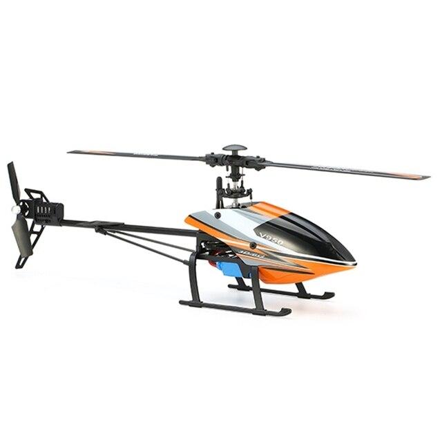 V950 2.4 Г 6CH WLtoys 3D6G Система Бесщеточный Flybarless Вертолет RTF