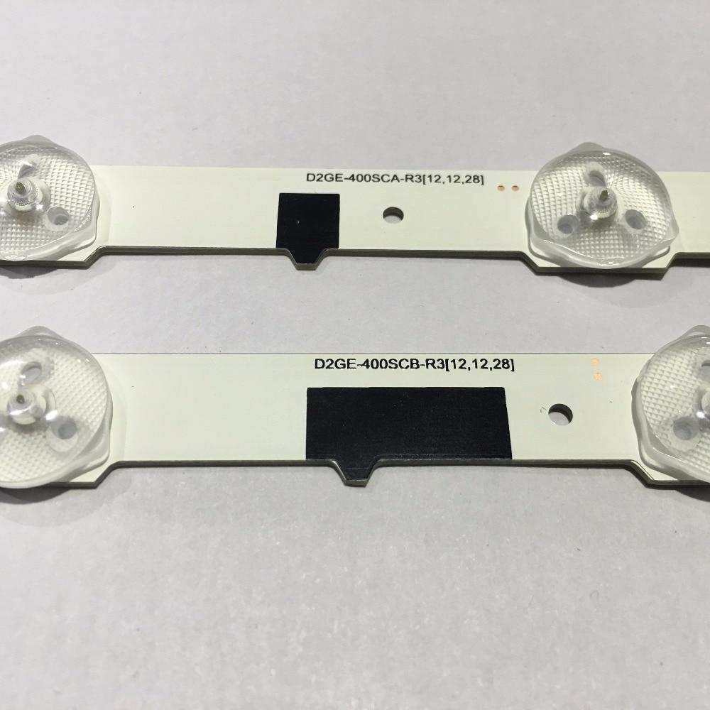 LED Backlight strip For SamSung 40 TV D2GE 400SCA R3 UA40F5500 2013SVS40F UE40F6400 D2GE 400SCB R3