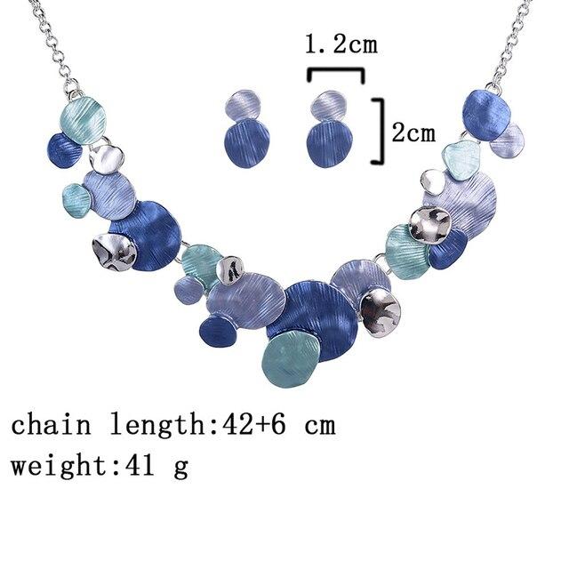 Unique Design Circular Geometric Jewelry set 3