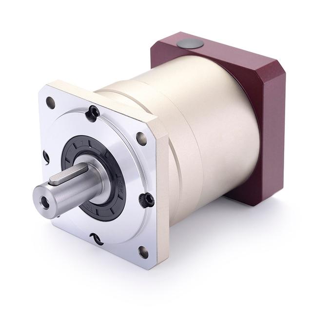 80 doppel klammer Spur gear planetary getriebe minderer 6 arcmin 3:1 zu 10:1 für NEMA34 86 schrittmotor eingang welle 14mm