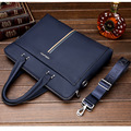 3 Models Genuine Leather Men Briefcase Business Shoulder Bag Messenger Bags Computer Laptop Handbag Bag Casual Men's Travel Bag