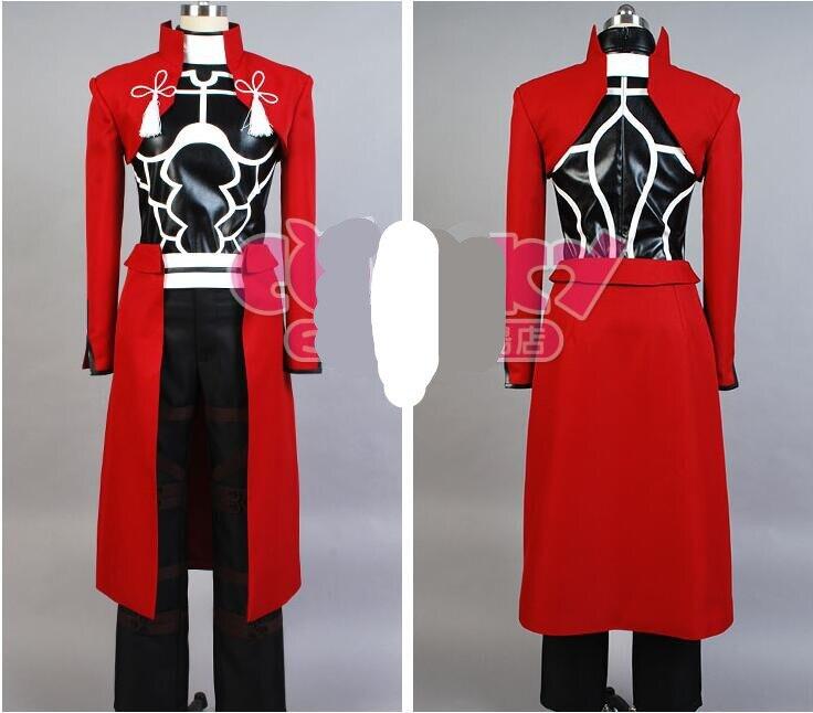 EMIYA cosplay Fate stay night cosplay costume archer red A emiya cosplay costume Uniform oufit fell set 4