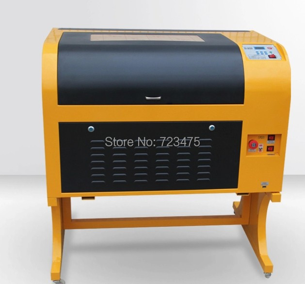 Laser engraving machine 6040 with 100w power up and down for Table up down extensible
