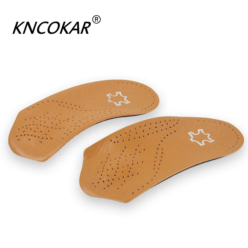 Half arch support orthopedic insoles flat foot correct 3/4 length orthotic insole feet care health orthotics insert shoe pad size 41 46 eva flat foot orthotic insole arch support o x leg half shoe pad orthopedic insoles foot care for adult 021