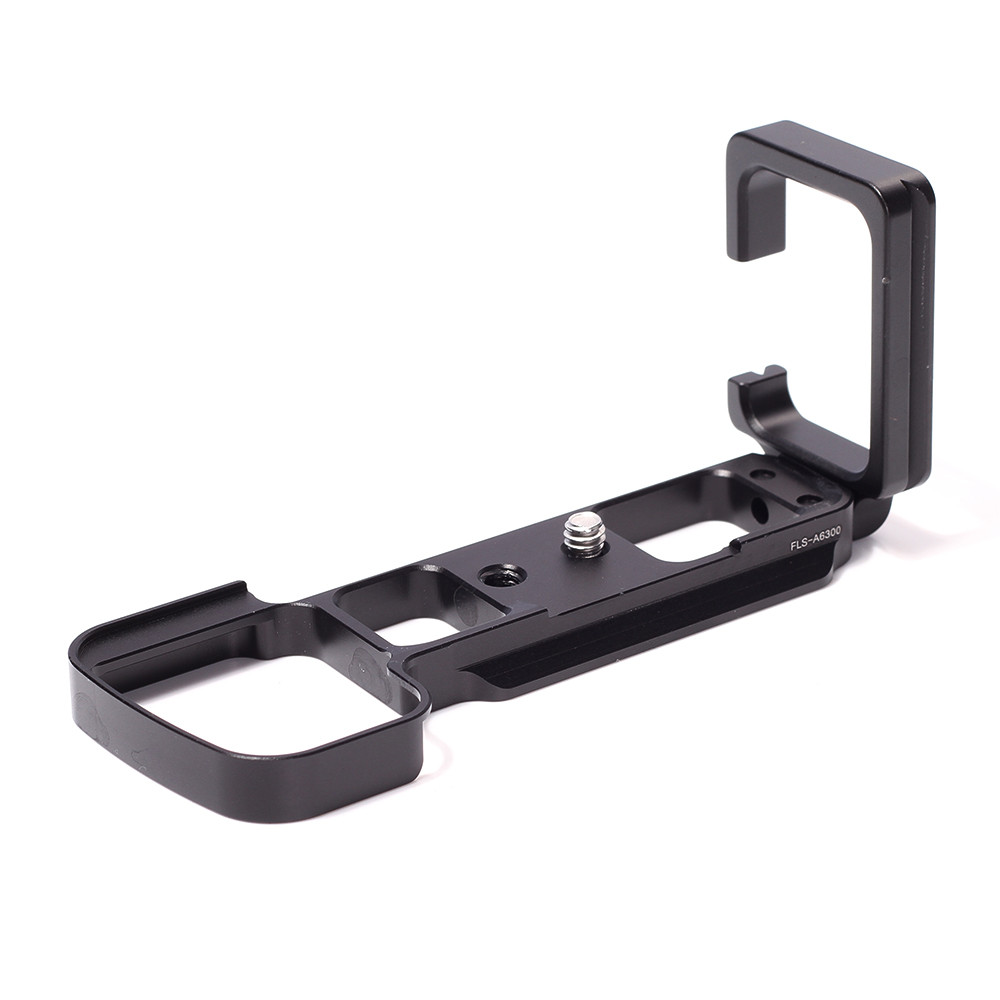 New L-bracket Specific Aluminum Quick Release Plate for Sony A6300 ILCE6300 Camera Body