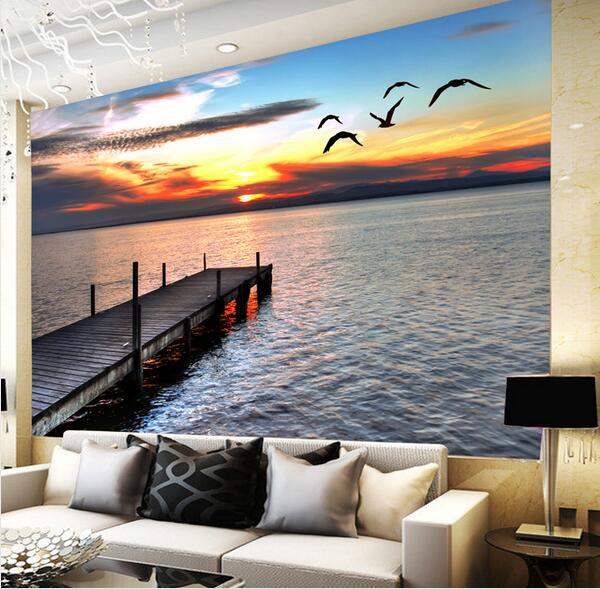 Living Room Wall Murals online get cheap nature wall murals -aliexpress | alibaba group