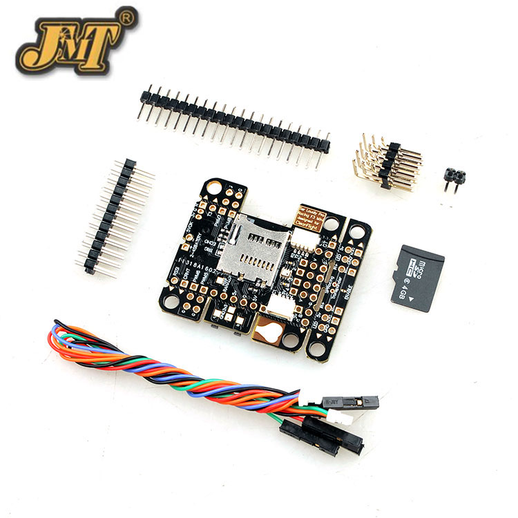 JMT Super Mini SP Racing F3 Flight Controller Built-in BEC 2-5s w/Compass & Barometer FC for DIY FPV Racing Drone Quadcopter f3 mini stm32f303 2 4s flight controller 20 20mm 3 7g built in 5v 3a bec osd lc filter for rc racing drone quadcopter